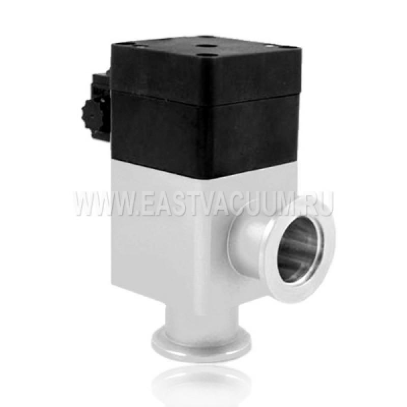 Угловой клапан KF40 с пневмоприводом, сильфонное уплотнение (алюминий)