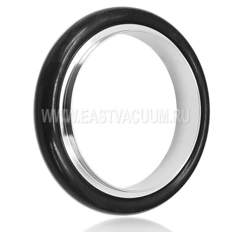 Уплотнение с центрирующим кольцом KF10 ( витон, нержавеющая сталь )