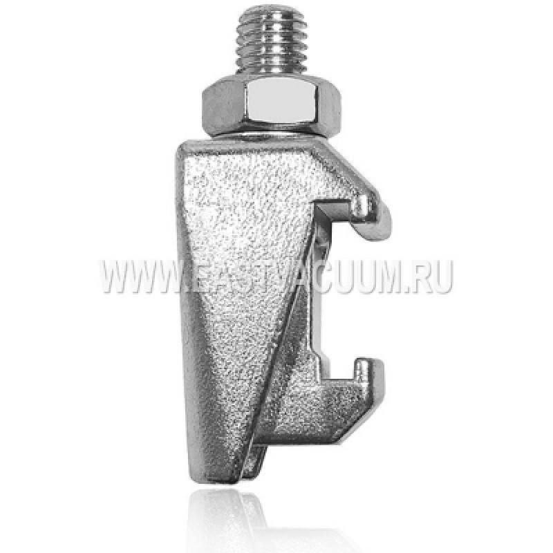 Струбцина двойная ISO630 M12 ( хромированная сталь )