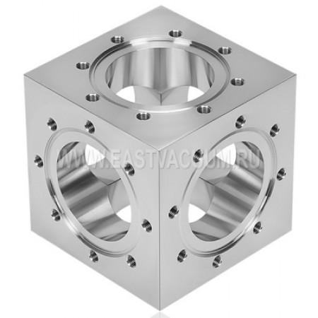 Куб 6-ти фланцевый CF16