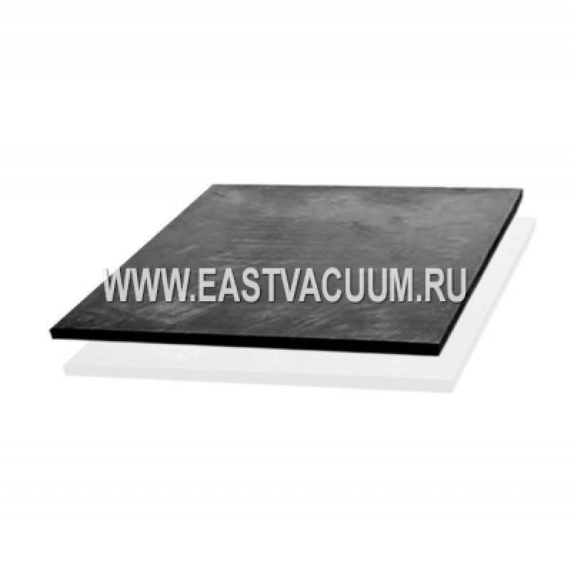 Пластина из жесткого однослойного углевойлока на основе ПАН волокна, покрытие - CFC композит