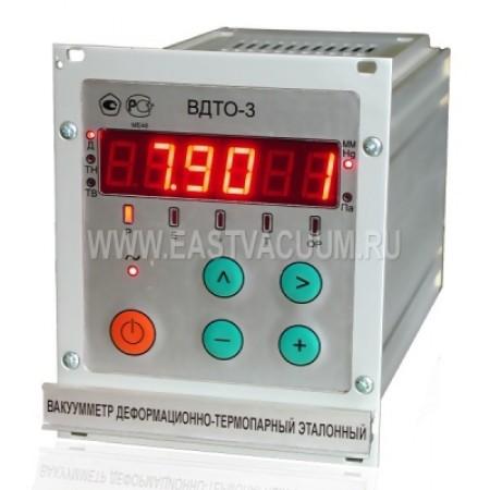 Вакуумметр деформационно - термопарный эталонный ВДТО-3