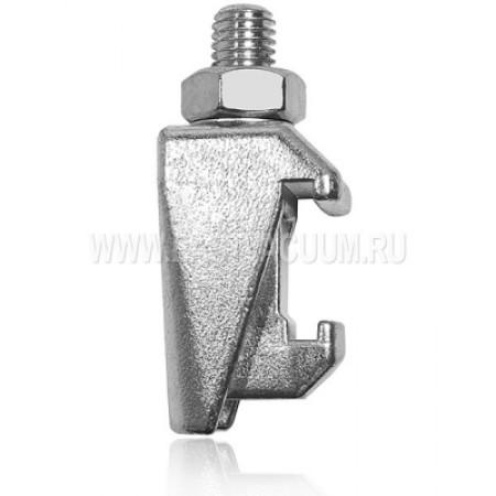 Струбцина двойная ISO63-250 M10 ( хромированная сталь )