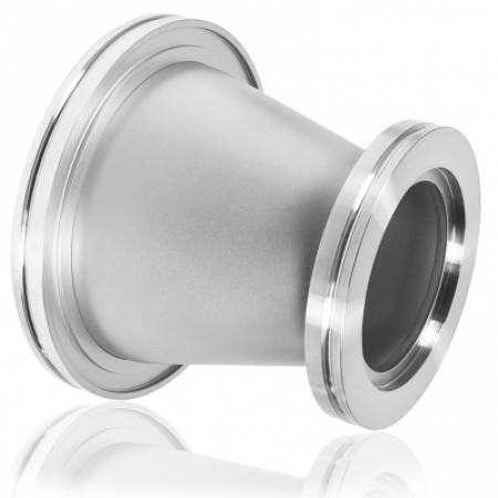 Переходник ISO100 - ISO80 конический ( нержавеющая сталь )