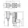 Угловой клапан KF16 электромагнитный XLS-16-P5G (алюминий)
