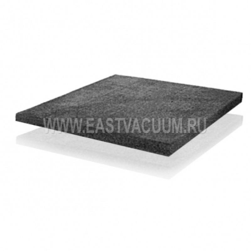 Мягкий карбонизированный углевойлок на основе PAN волокна, толщина 10 мм, рулон, ширина 1000-1300 мм, длина 10-15 метров