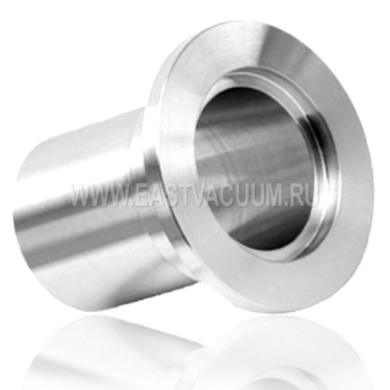 Адаптер для ПВХ шланга KF10 ( хромированная сталь )