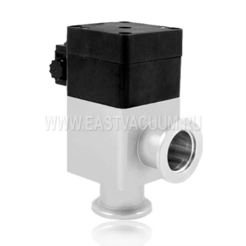Угловой клапан KF25 с пневмоприводом, сильфонное уплотнение (алюминий)